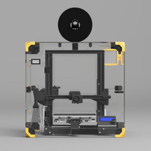 Capot anti bruit et filtrant Ender-3 série (2)