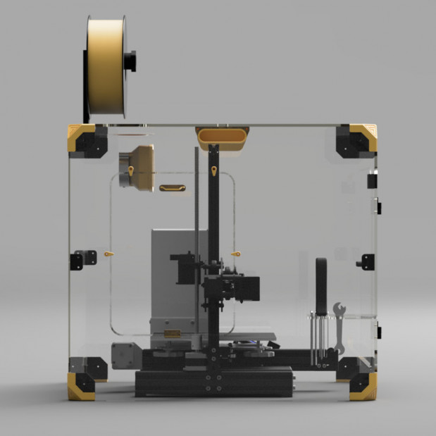 Capot anti bruit et filtrant Ender-3 série (6)